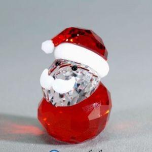 Swarovski 2013 Rocking Santa Figurine